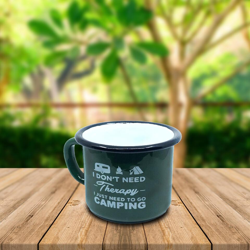 EVCİLİK - Enamel Camp Cup Dark Green
