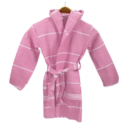 EVCİLİK - Kids Bathrobe Made of Peshtemal Turkish Towel