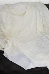 Triko Battaniye Beyaz