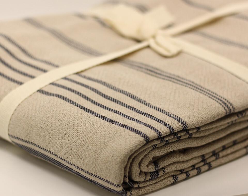 Peshtamal Weaving Organic Multipurpose Cover Milk Coffee Color