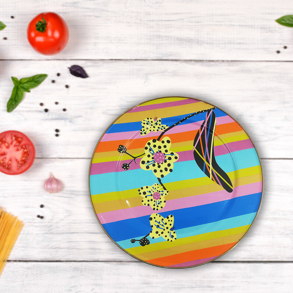 EVCİLİK - Rainbow Servis Tabağı
