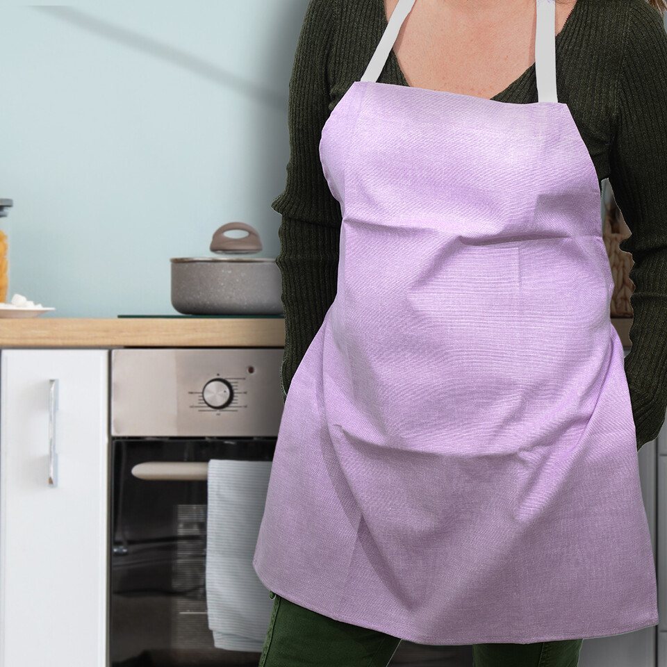 EVCİLİK - Trend Kitchen and Working Apron in Lilac