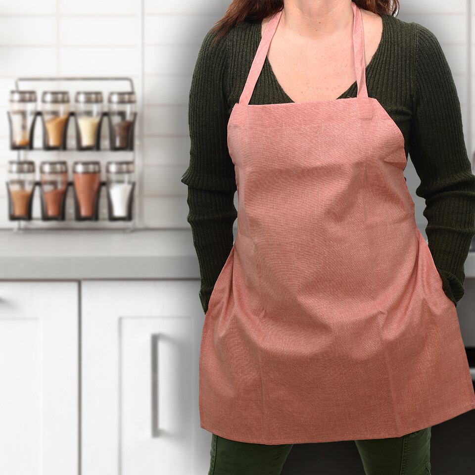 EVCİLİK - Trend Kitchen and Working Apron in Terracotta
