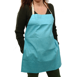 EVCİLİK - Trend Kitchen and Working Apron in Turquois