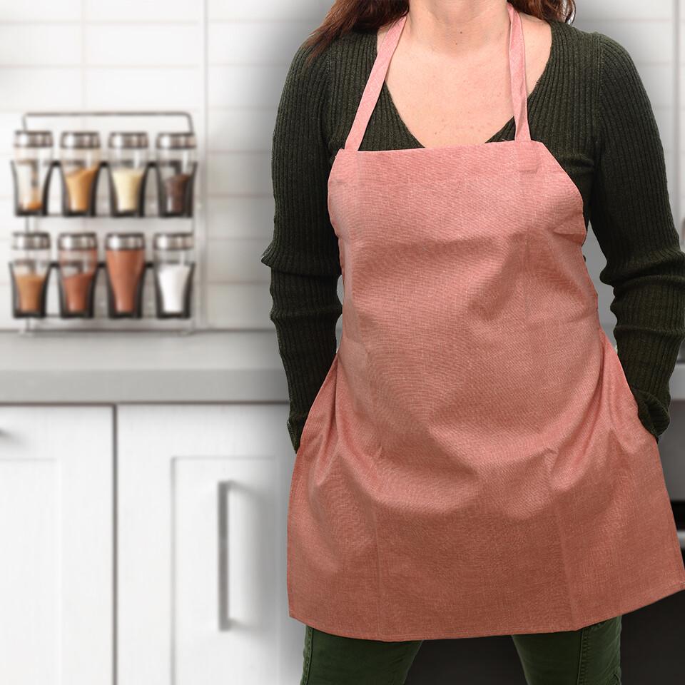 EVCİLİK - Trend Mutfak Önlüğü Terakota