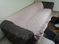 Triko Battaniye Pembe