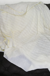 Features of Knitwer Blanket White Product;